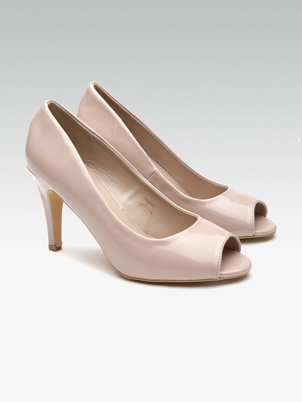 08ba07b7 Buy DOROTHY PERKINS Women Nude Coloured Solid Peep Toes - Heels for ...