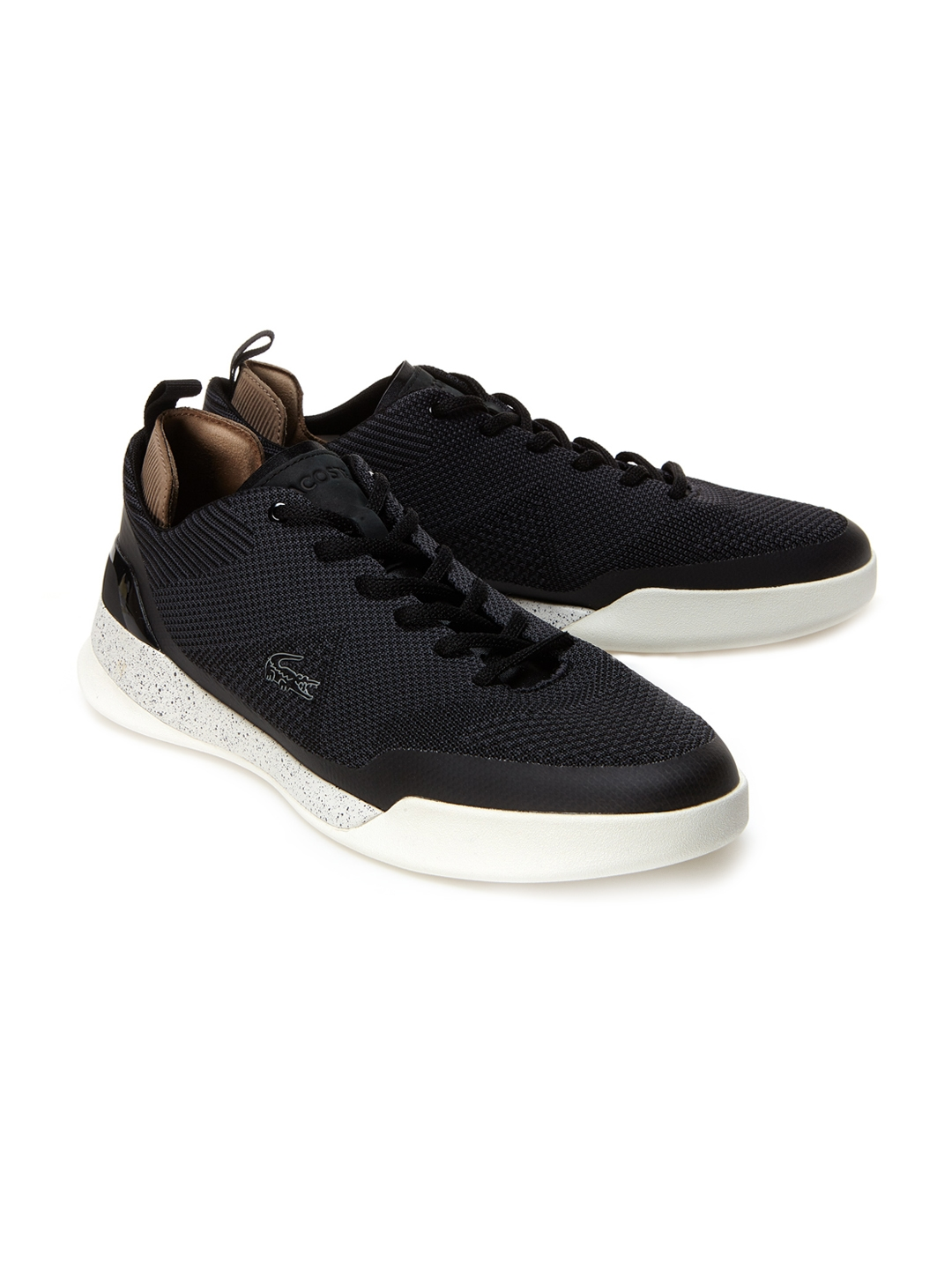 193574460 Buy Lacoste Men Black Training Or Gym Shoes - Sports Shoes for Men ...