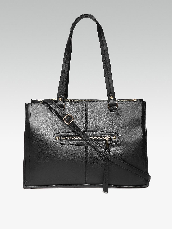 154d5b4edcc3 Buy DOROTHY PERKINS Black Solid Shoulder Bag With Sling Strap ...