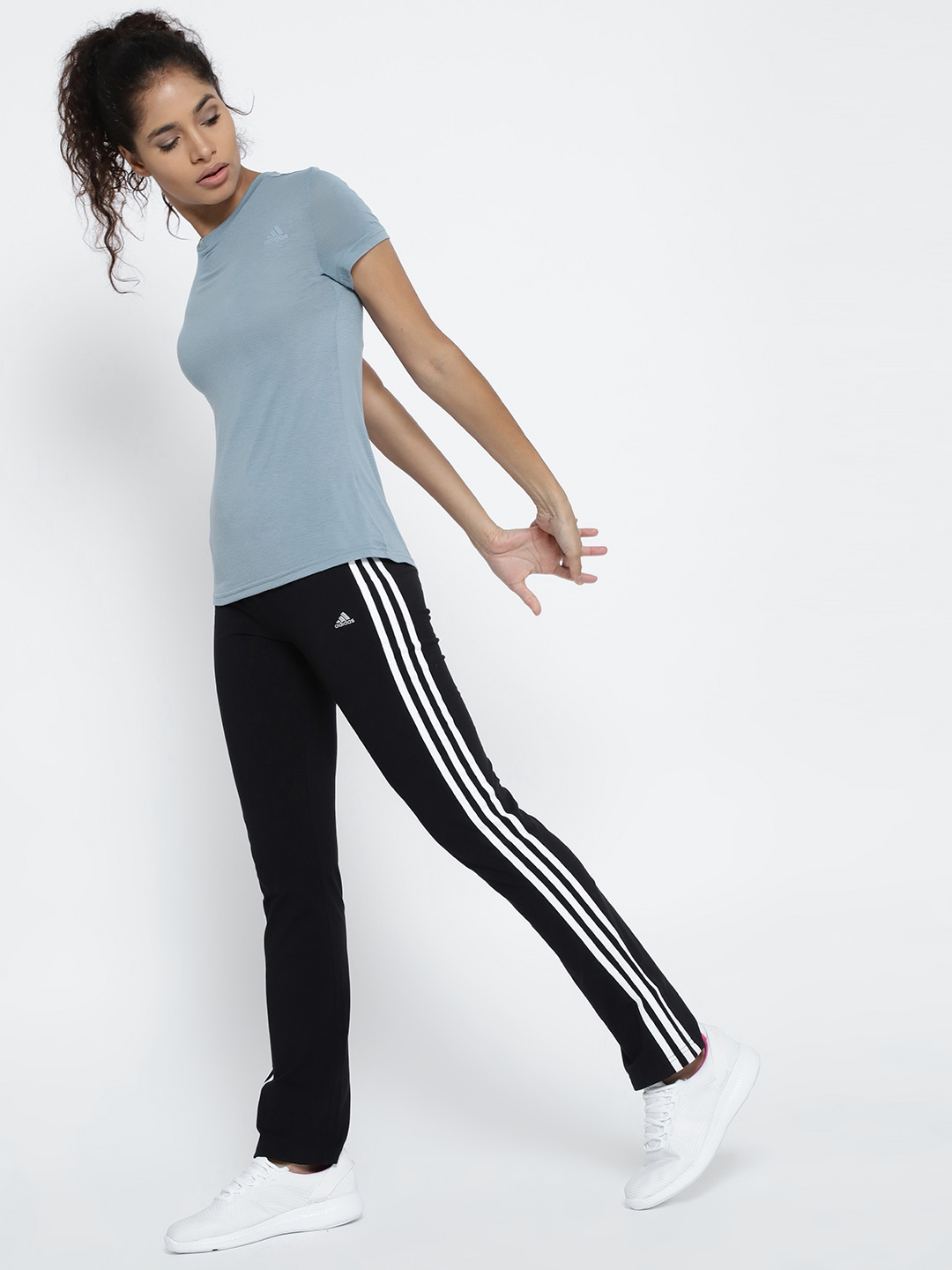 7dab3ea6 Buy Adidas Blue Freelift Prime T Shirt - Tshirts for Women 5126133 ...