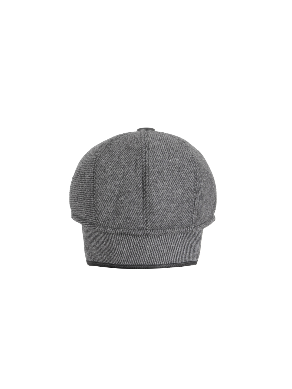 FabSeasons Unisex Grey Self Design Ascot Cap