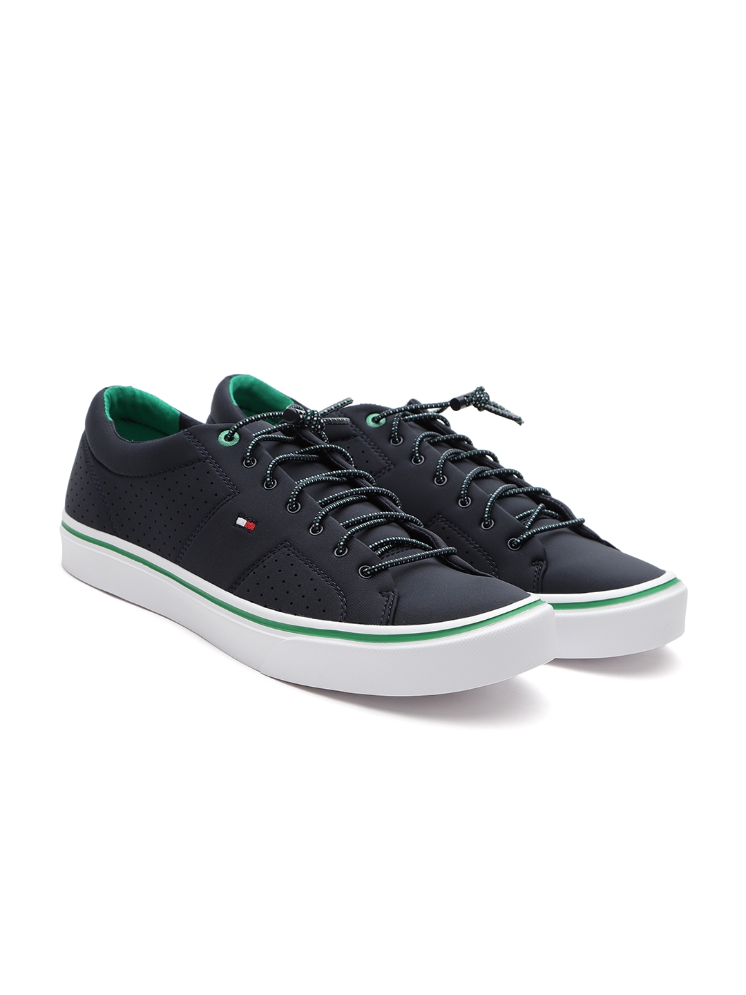 cbbedd719b0680 Buy Tommy Hilfiger Men Navy Sneakers - Casual Shoes for Men 5267719 ...