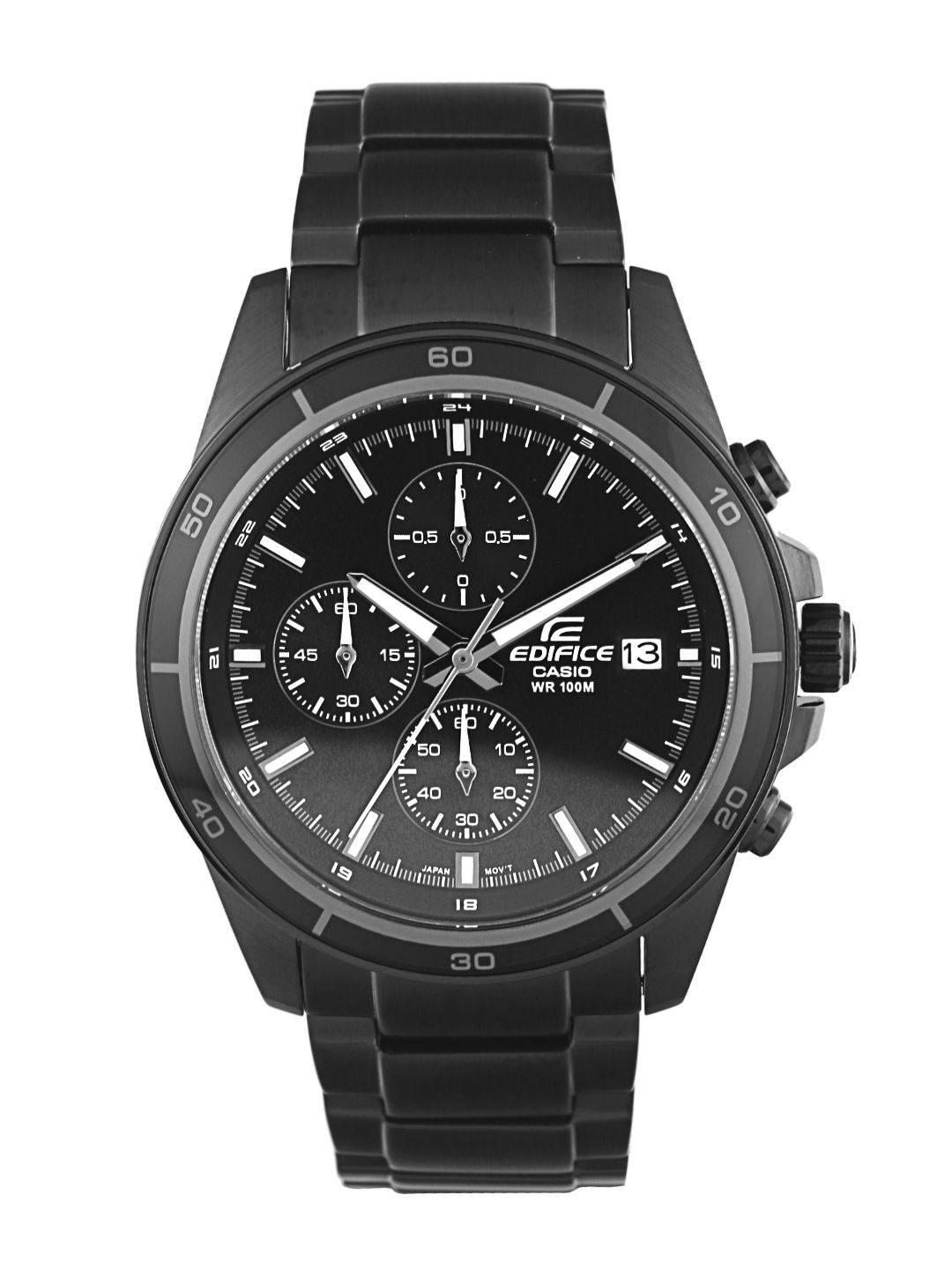 Casio Edifice Men Black Analogue watch EX206 EFR 526BK 1A1VUDF