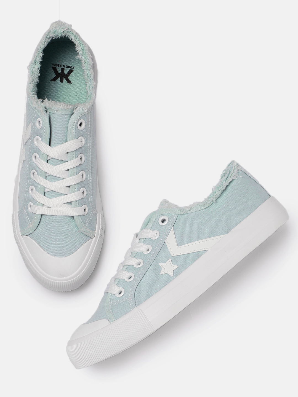 03ad3cb9e24 Buy Kook N Keech Women Blue Sneakers - Casual Shoes for Women ...