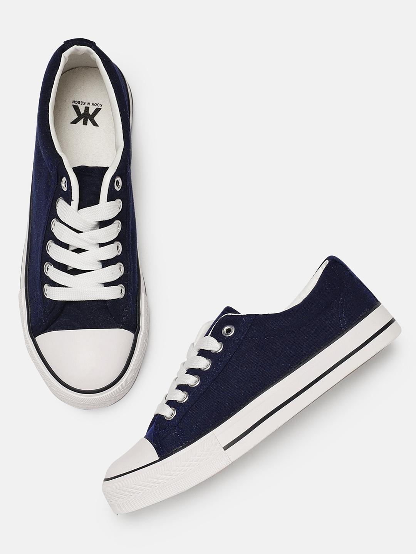 c79a4a97b37 Buy Kook N Keech Women Navy Blue Sneakers - Casual Shoes for Women ...