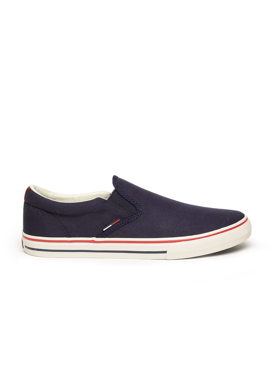 c226ece82 Buy Tommy Hilfiger Men Blue Sneakers - Casual Shoes for Men 5361713 ...