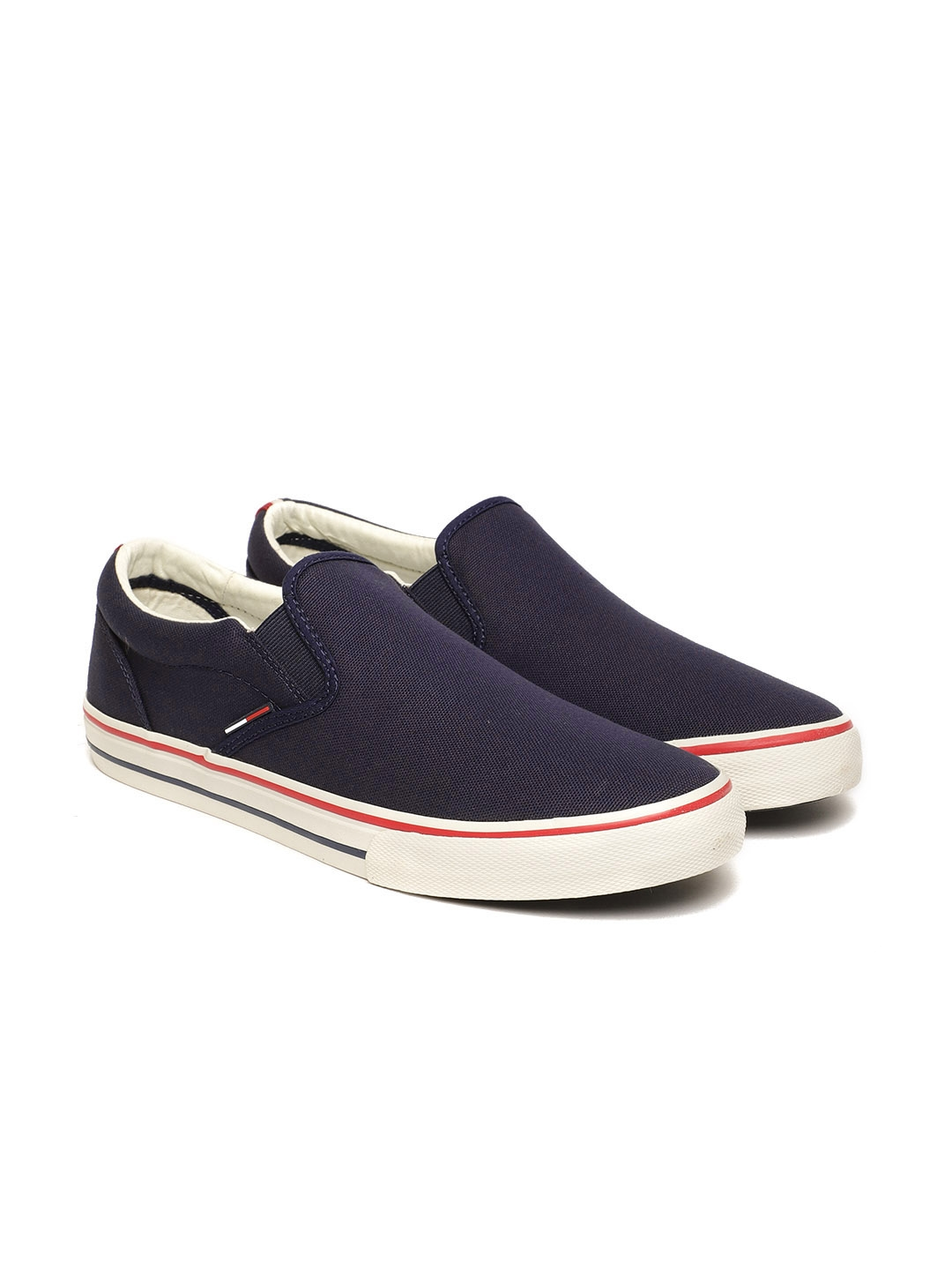 9be1ef260 Buy Tommy Hilfiger Men Blue Sneakers - Casual Shoes for Men 5361713 ...