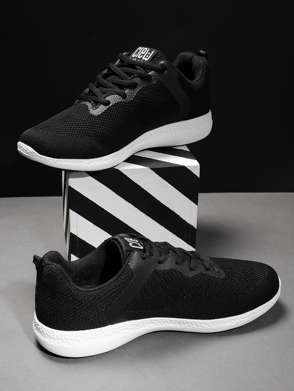 Buy Crew STREET Men Black Running Shoes