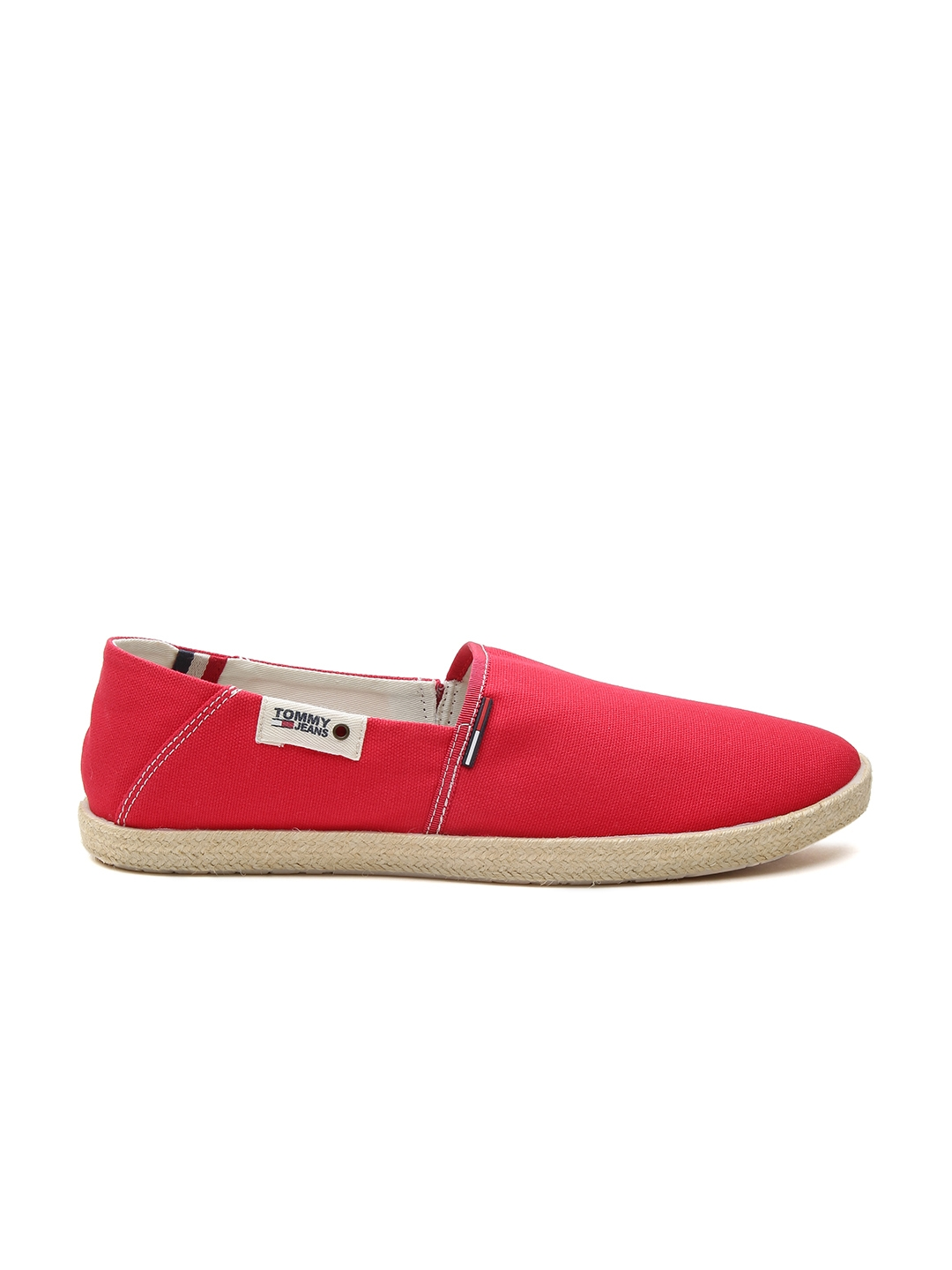 86e68aeba Buy Tommy Hilfiger Men Red Espadrilles - Casual Shoes for Men ...