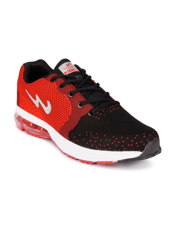 Buy Campus Men Geo Red Running Shoes 3G