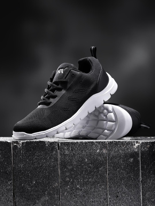 b1d7ea5e24c Buy HRX By Hrithik Roshan Women Free Flex Series Black Running Shoes ...