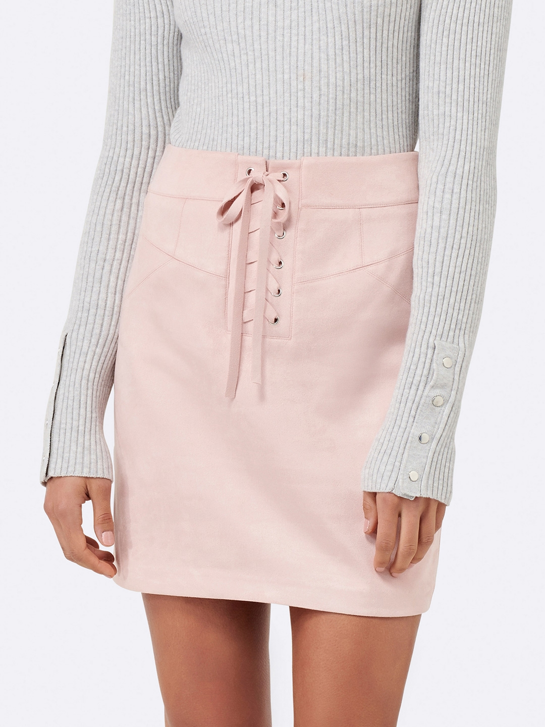 678c6b43d3 Buy Forever New Pink Pencil Skirt - Skirts for Women 5394142 | Myntra