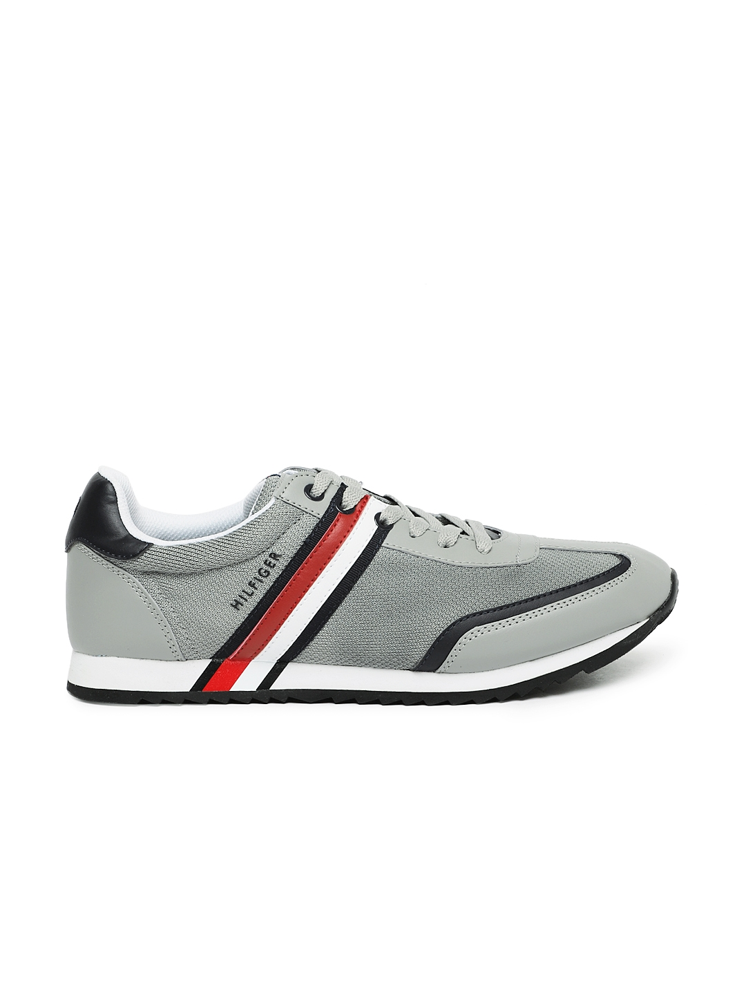85b57a94c Buy Tommy Hilfiger Men Grey Sneakers - Casual Shoes for Men 5415596 ...