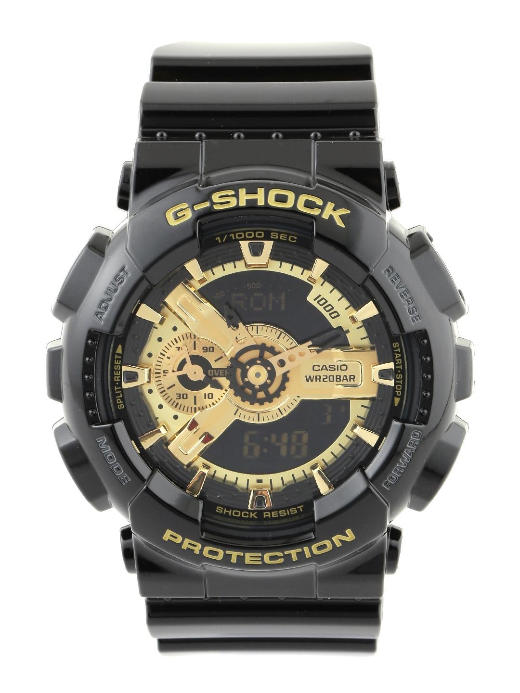 Casio G Shock Men Black Analogue Digital Watches  G339  GA 110  GB 1ADR