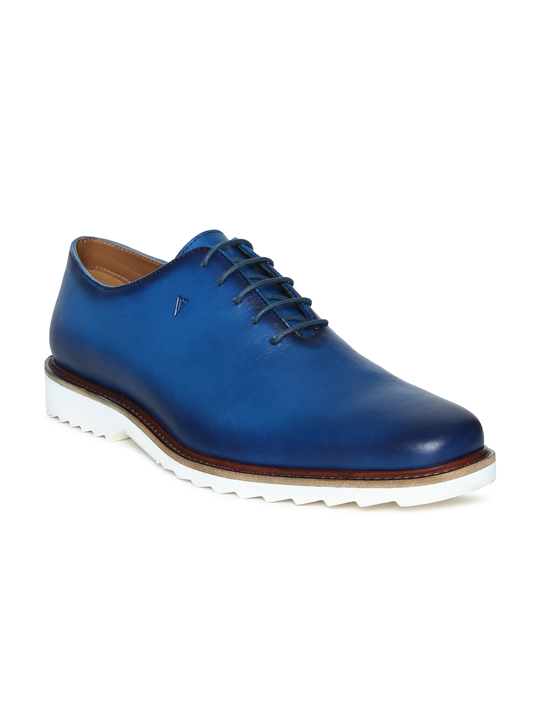 ea7c8cd6d5 Buy Van Heusen Men Blue Oxfords - Formal Shoes for Men 5492278
