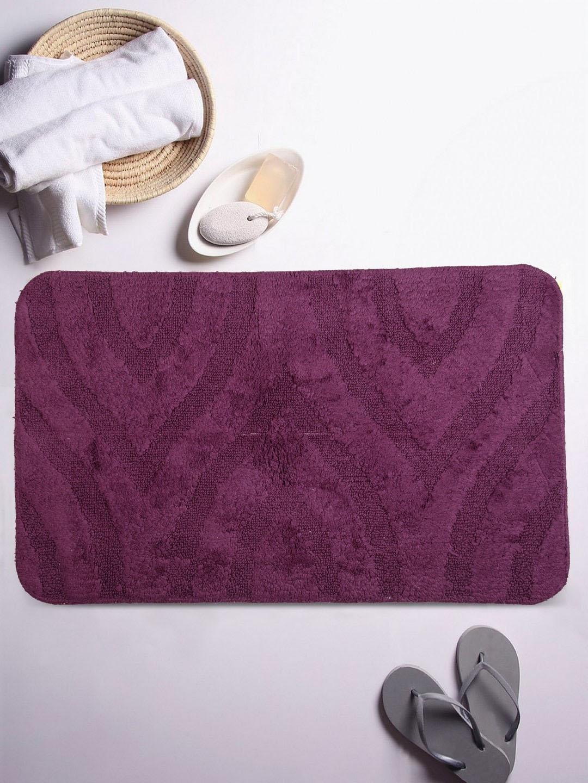 Lushomes Purple Large Bathmat