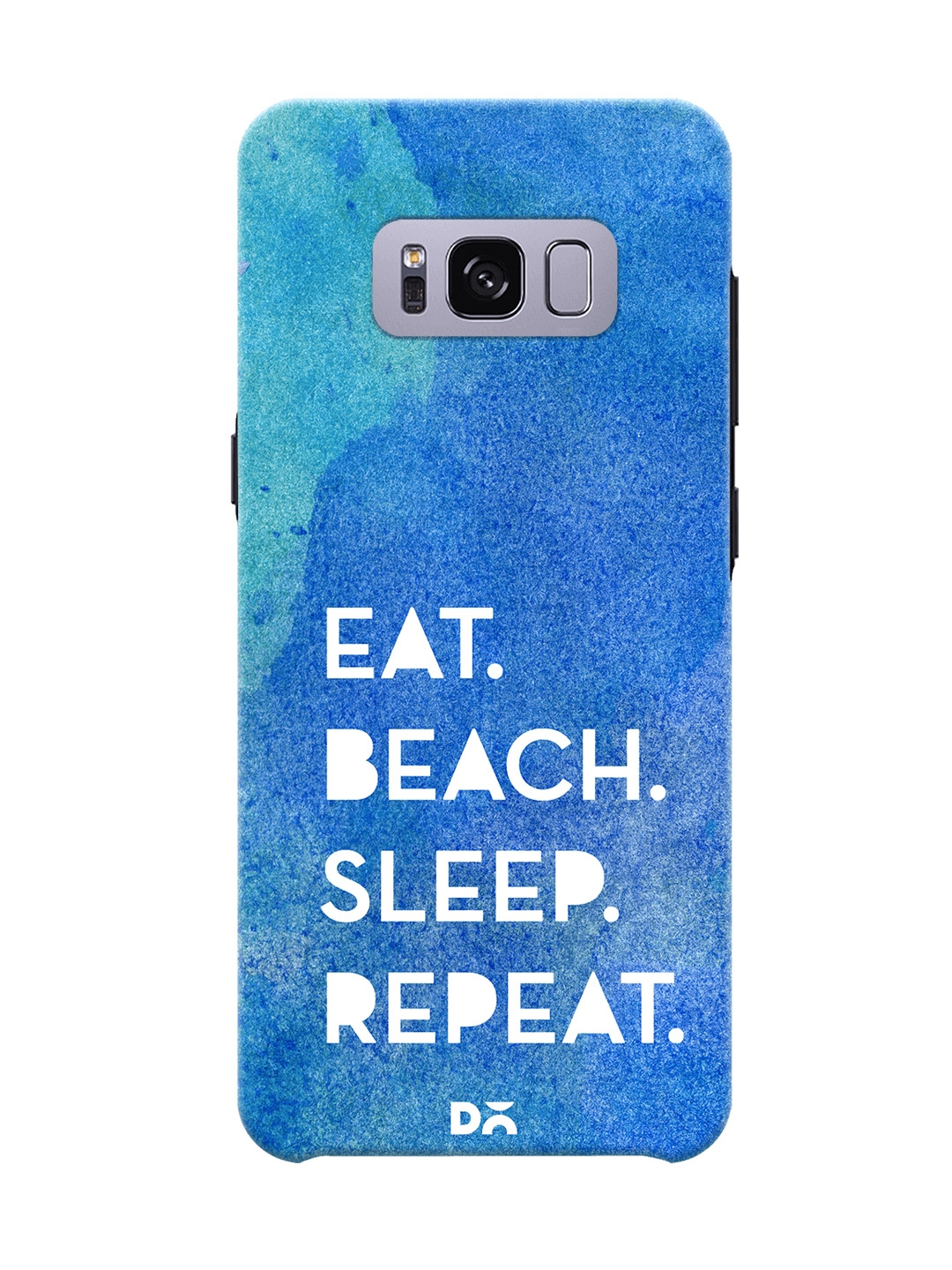 DailyObjects Unisex Blue Samsung Galaxy S8 Plus Mobile Cover DailyObjects Mobile Accessories