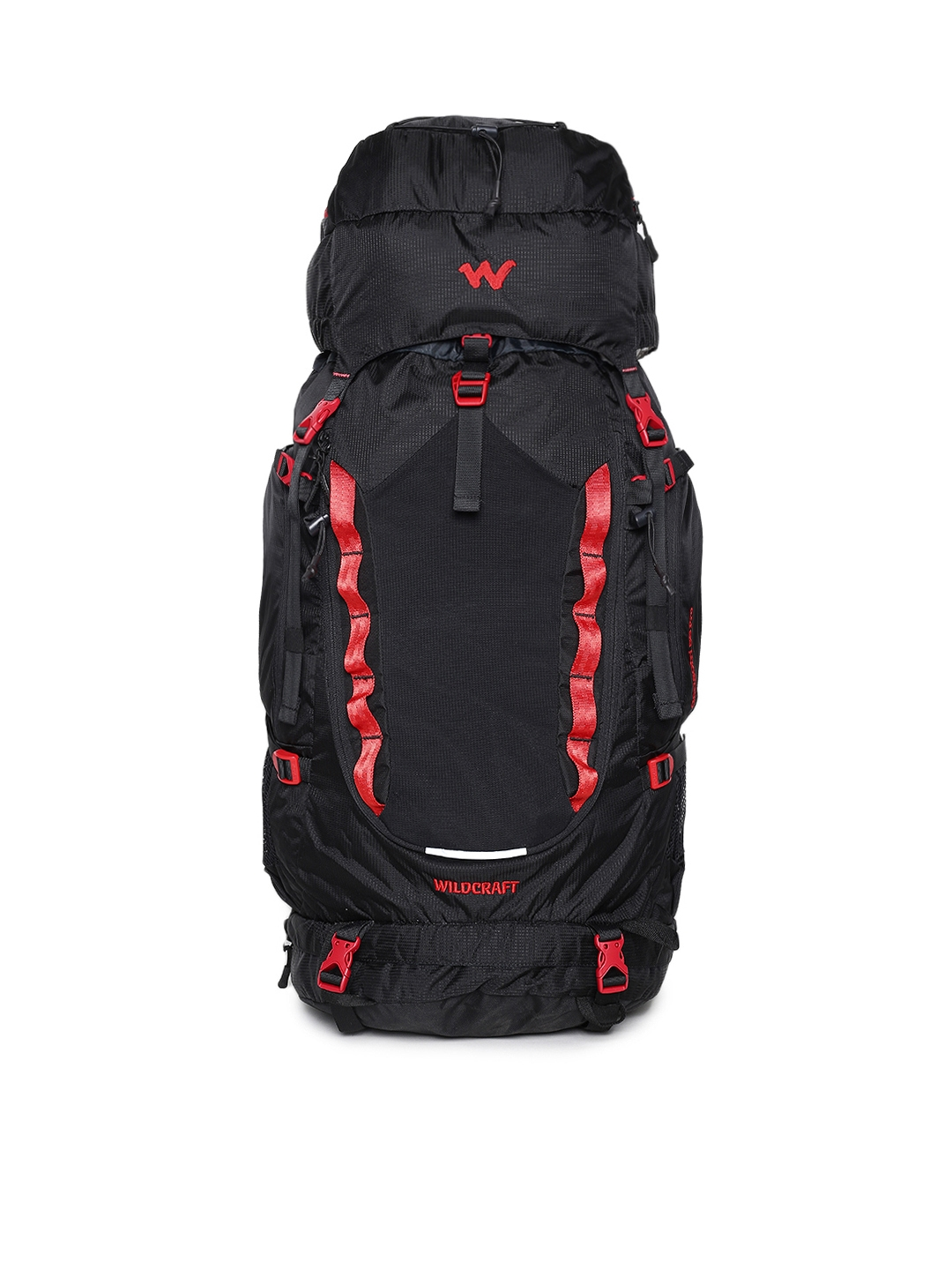 Buy Wildcraft Unisex Black Gangotri 55 Pro Rucksack - Rucksacks for ... 5e6d99a5ff9a0
