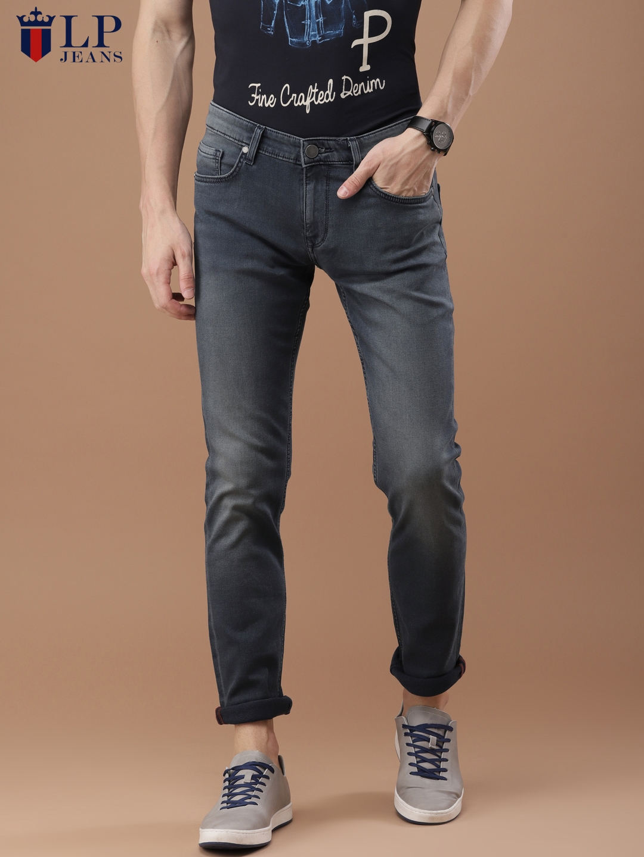 d68bf617fb3 Buy Louis Philippe Jeans Men Blue Slim Fit Low Rise Clean Look Jeans ...