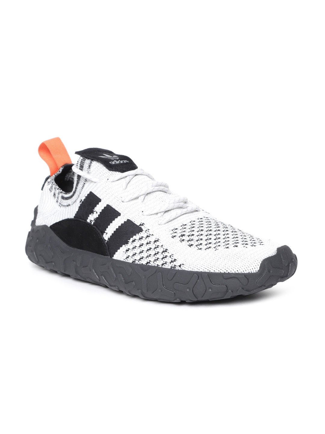 best service f8f09 cd24c ADIDAS Originals Men White  Black F22 PK Casual Shoes