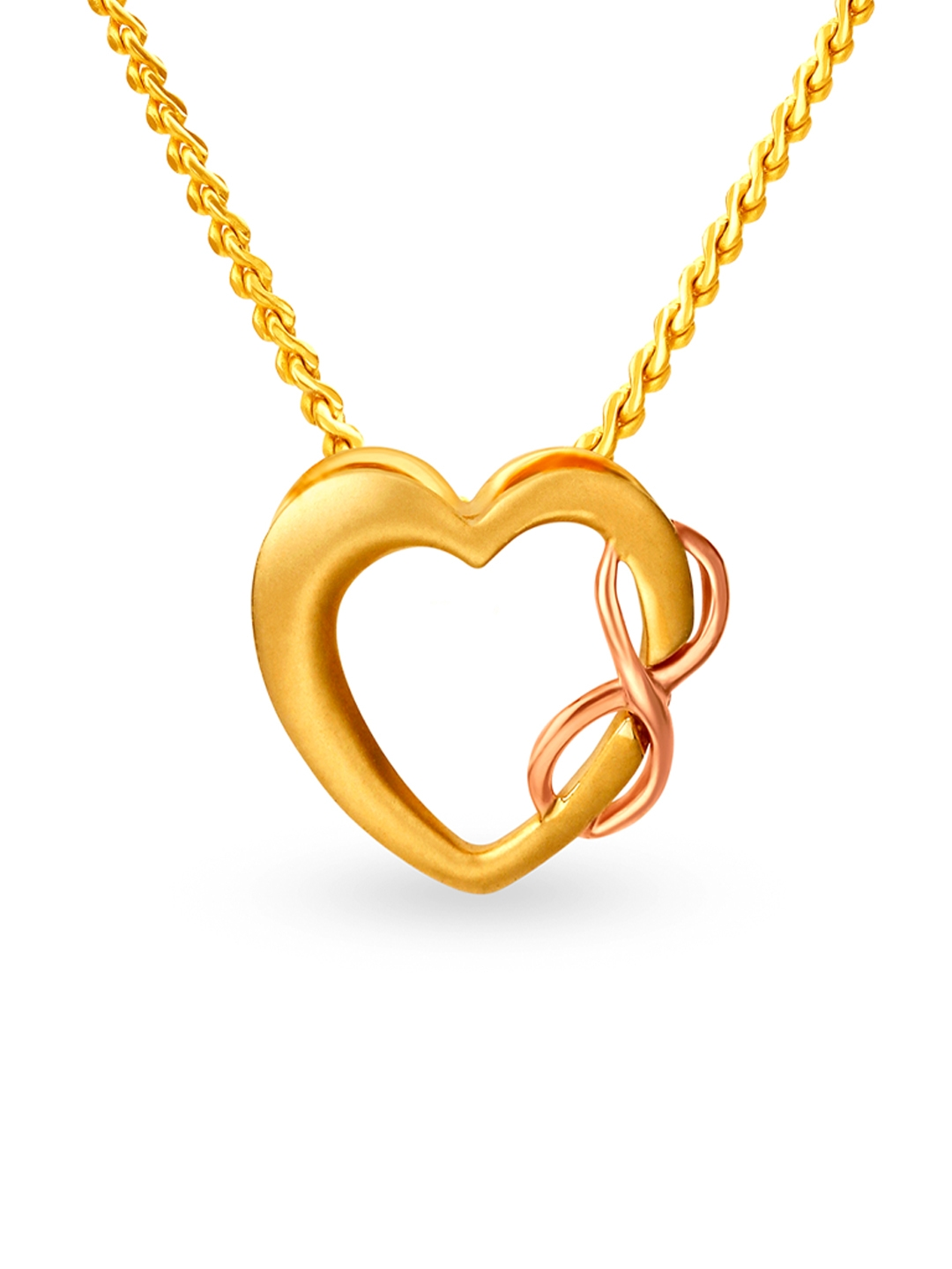 Mia by Tanishq 14KT Yellow Gold Pendant