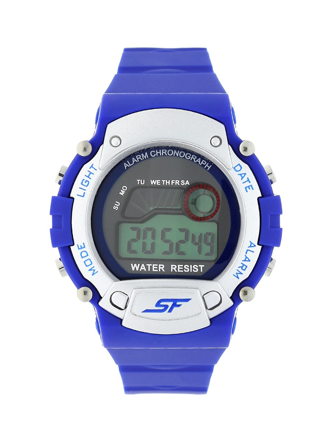 Sonata Men Blue Digital Watch