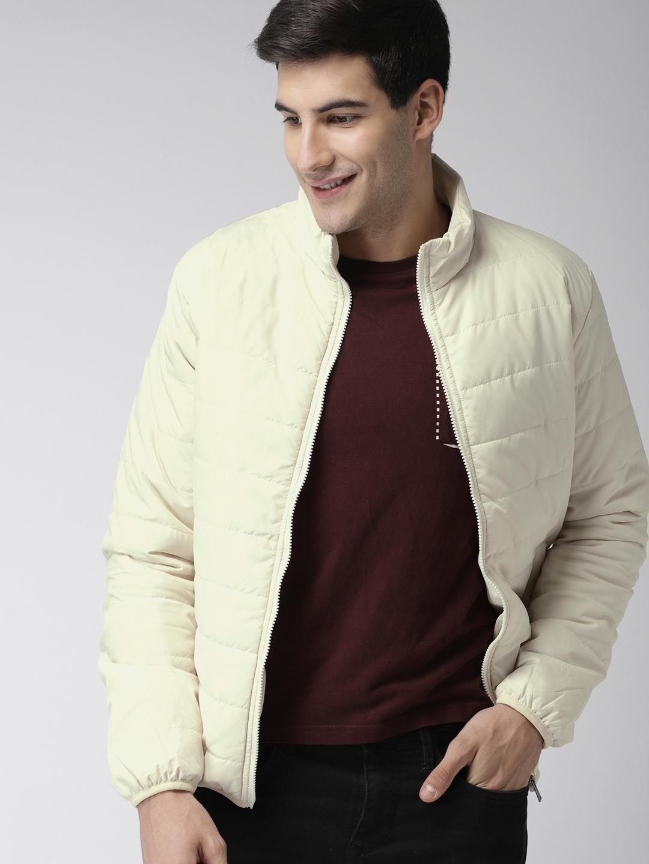 af8d24c2c85 Buy Mast   Harbour Men White Solid Puffer Jacket - Jackets for Men ...