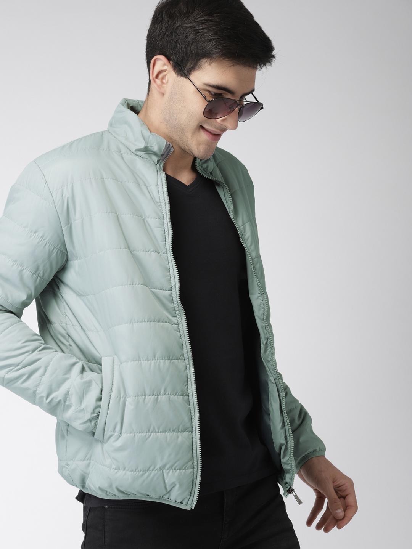 8185dbf0b83 Buy Mast   Harbour Men Grey Solid Puffer Jacket - Jackets for Men ...