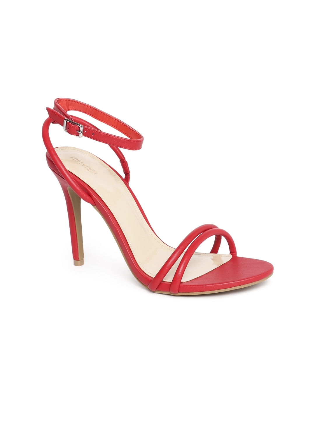 fd4781cde517 Buy FOREVER 21 Women Red Solid Heels - Heels for Women 5642018