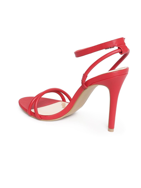 c13500091e0 Buy FOREVER 21 Women Red Solid Heels - Heels for Women 5642018