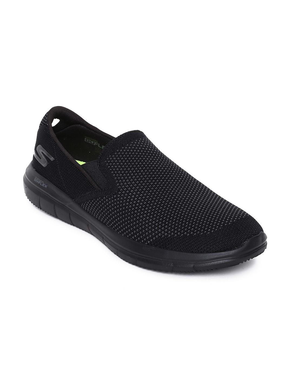 good sale retailer discount sale Skechers Men Black GO FLEX 2 - MANEUVER Walking Shoes