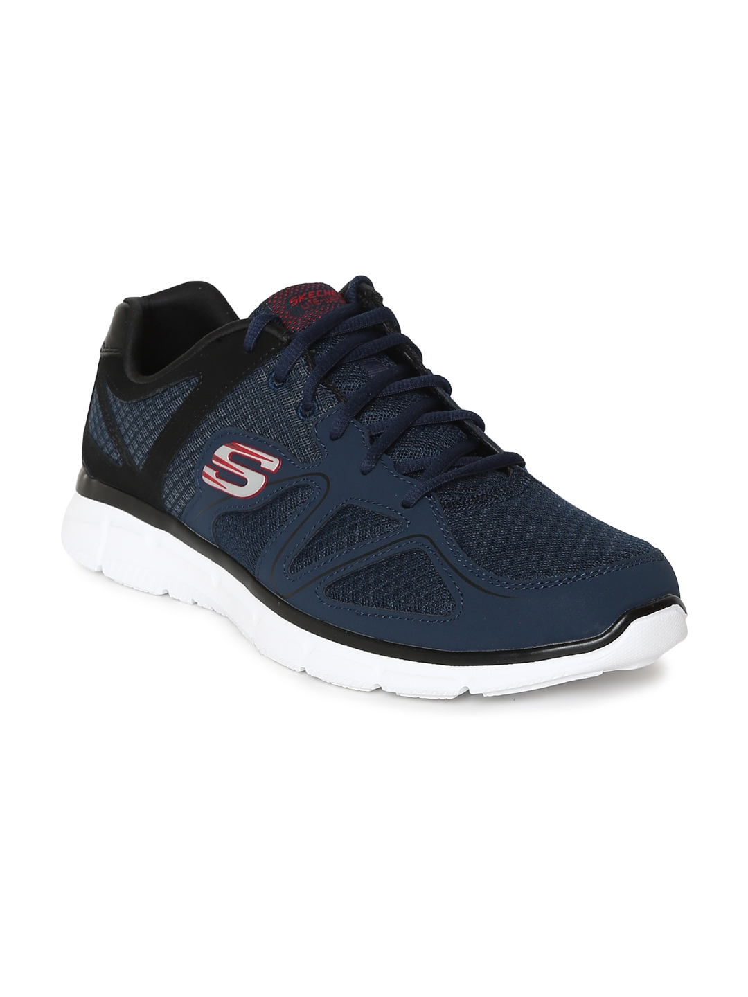 4326e7780937 Buy Skechers Men Navy Blue Verse Flash Point Running Shoes - Sports ...