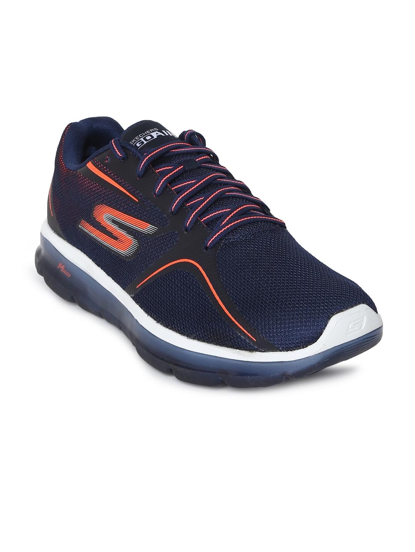 300b6c72f8e5 Buy Skechers Men Navy Blue GO AIR 2 Walking Shoes - Sports Shoes for ...