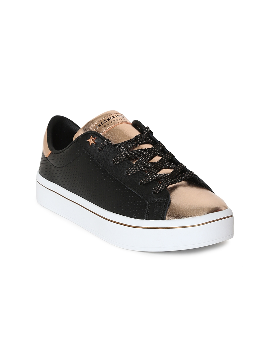 4a8c8b1c9bb0 Buy Skechers Women NEW YORK NIGHTS Black Sneakers - Casual Shoes for ...