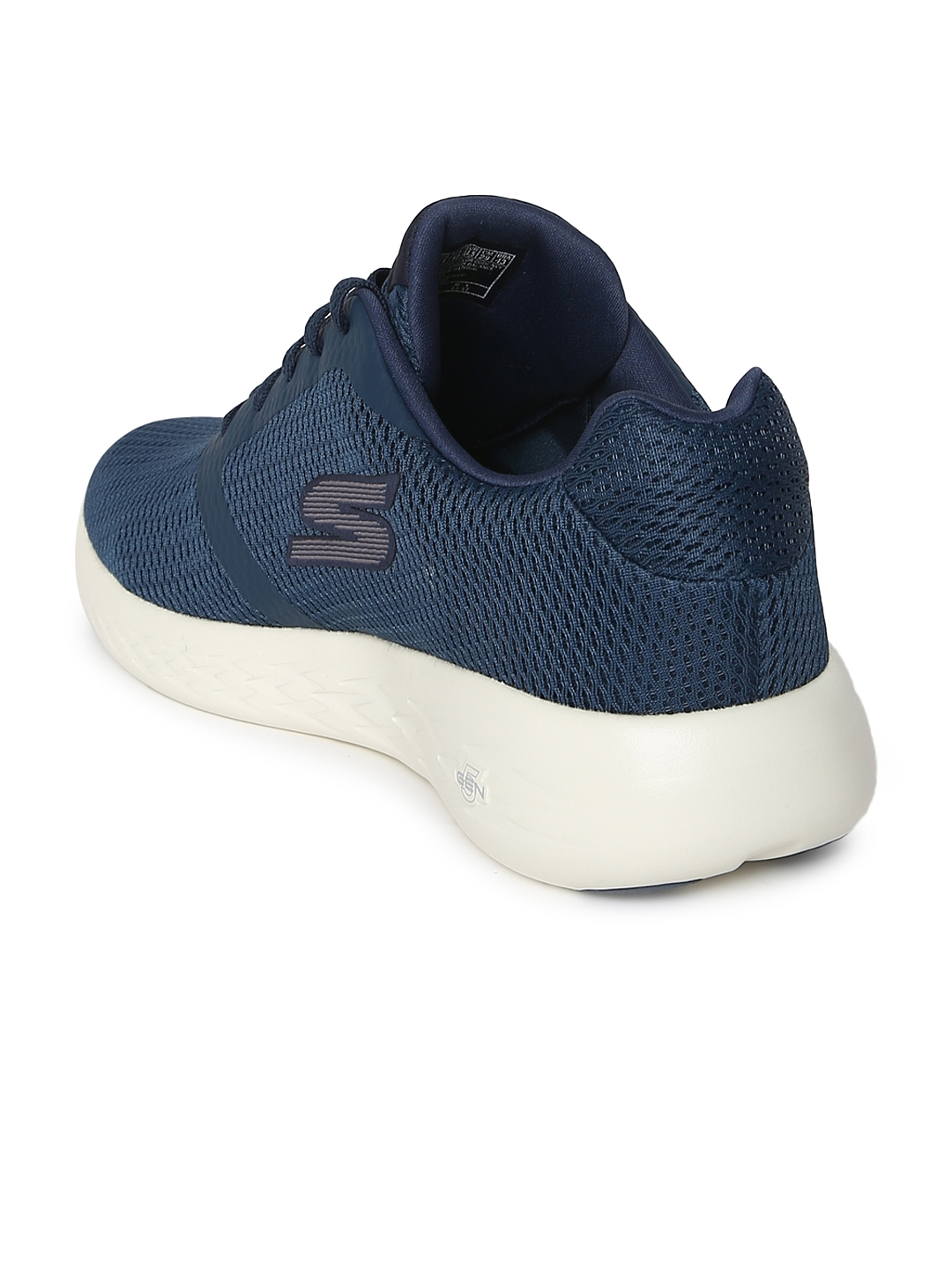 bafab645 Buy Skechers Men Navy Blue Go Run 600 Refine Running Shoes - Sports ...