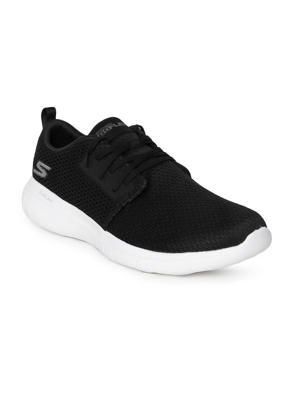 859a2a9ba967 Buy Skechers Men Black Go Flex Max Walking Shoes - Sports Shoes for ...