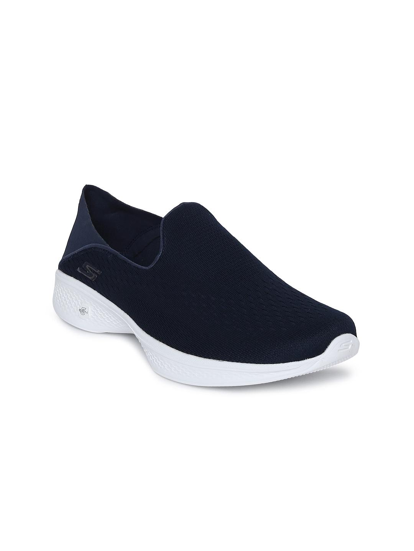 8245964833e5 Buy Skechers Women Navy GO WALK 4 CONVERTIBLE Slip On Walking Shoes ...