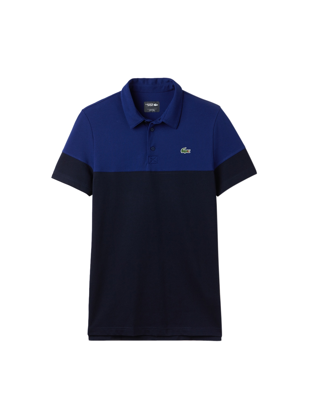 7ed0d5242a Buy Lacoste Men Navy Blue Sport Golf Colorblock Technical Pique Polo ...