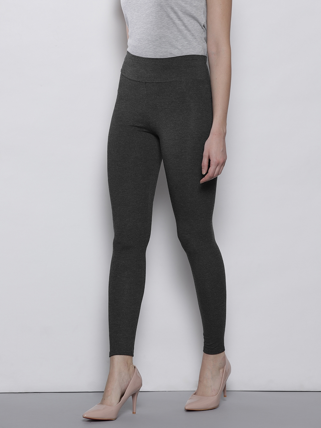 a5f0899f7e Buy DOROTHY PERKINS Charcoal Grey Leggings - Leggings for Women ...