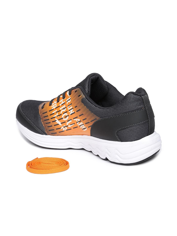 75bd129addd1 Buy Reebok Men Orange   Black Dual Dash Run Xtreme Sports Shoes ...