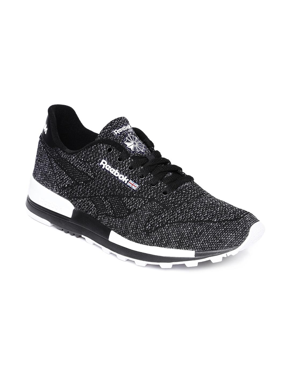 868bb35ab93 Buy Reebok Men Black Classic Leather 2.0 ULTK Sneakers - Casual ...
