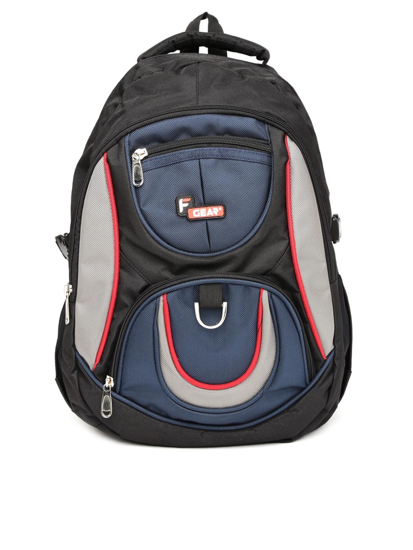 F Gear Unisex Black   Blue Axe Backpack