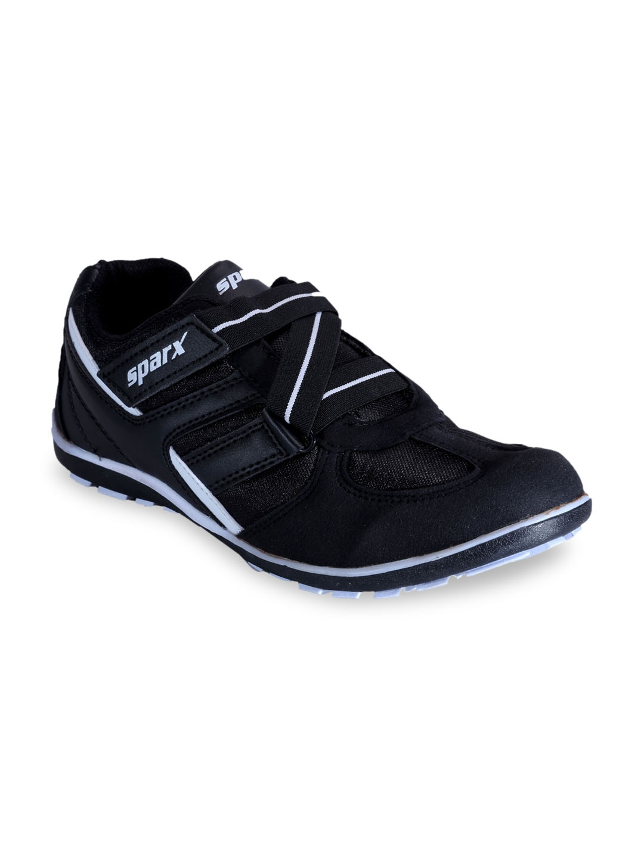 d03d4900c Buy Sparx Men Black Running Shoes - Sports Shoes for Men 5800395 ...