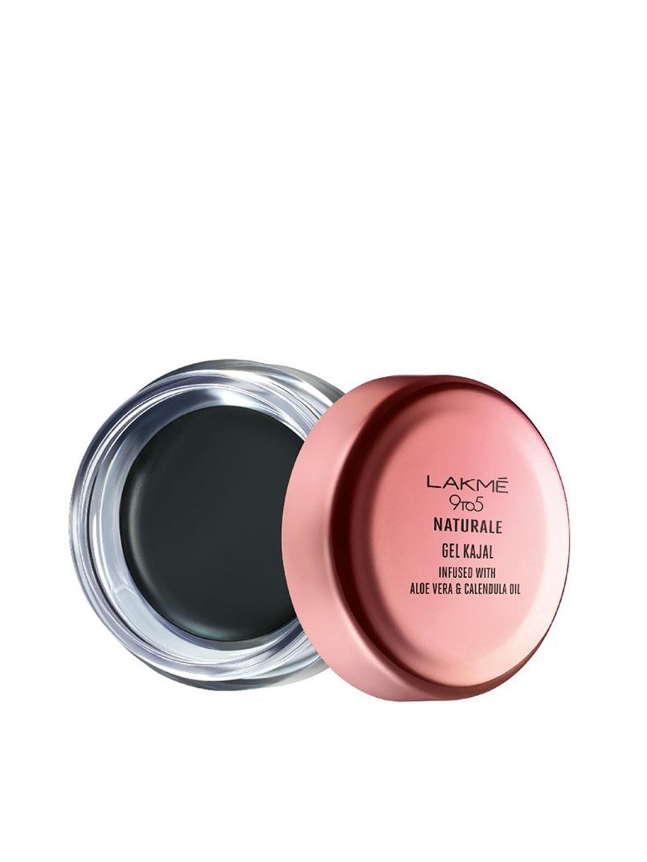 e3aaba18fb4 Buy Lakme 9 To 5 Naturale Black Gel Kajal 3 G - Kajal And Eyeliner ...