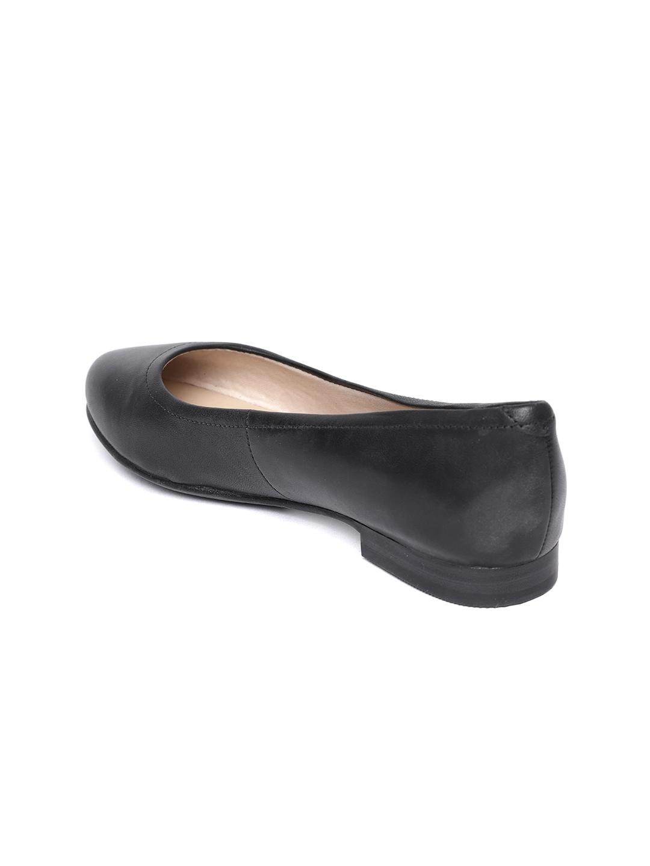 cf01e7429e14b Buy Marks & Spencer Women Black Leather Ballerinas - Flats for Women ...