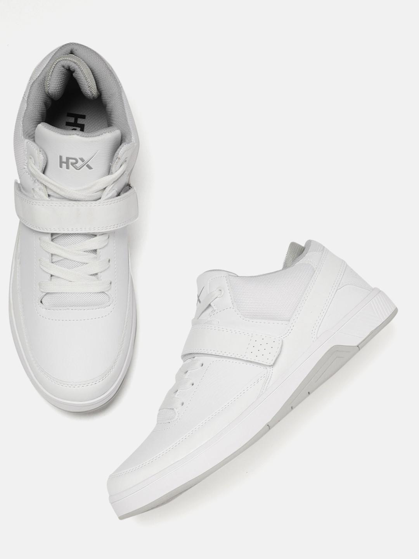 566541415 Buy HRX By Hrithik Roshan Men White Hoop Life Sneakers - Casual ...