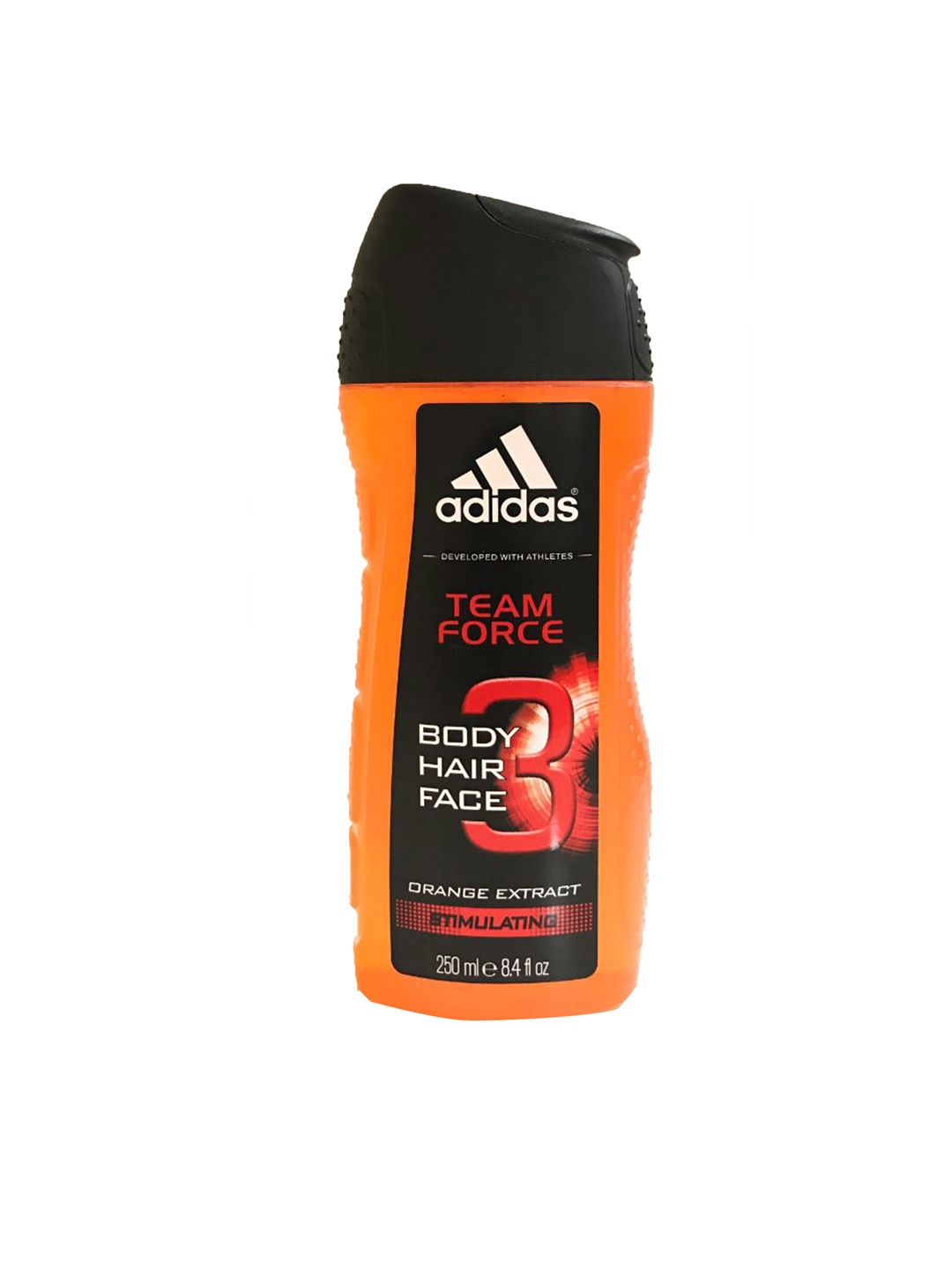 ad0f694cc669 ADIDAS Men Team Force Shower Gel With Orange Extract 250ml