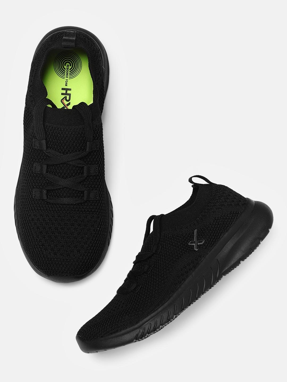 3a63f0b408f Buy HRX By Hrithik Roshan Women Black Running Shoes - Sports Shoes ...