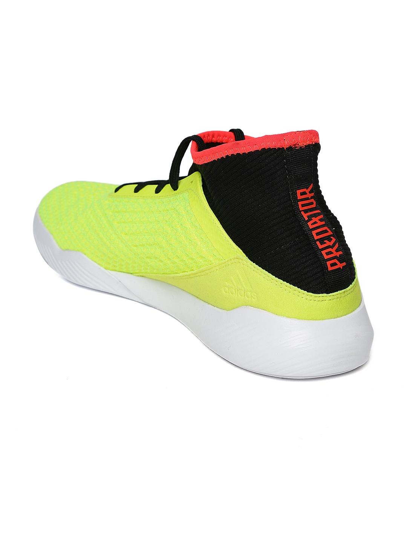 9bfefef30 Buy ADIDAS Men Neon Yellow & Black Predator Tango 18.3 TR Football ...