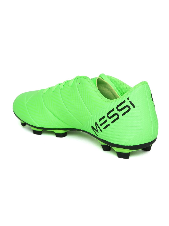 1f8432098 Buy ADIDAS Men Fluorescent Green Nemeziz Messi 18.4 FXG Football ...